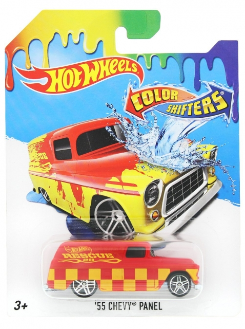 hot wheels color shifters 39 55 chevy panel. Black Bedroom Furniture Sets. Home Design Ideas
