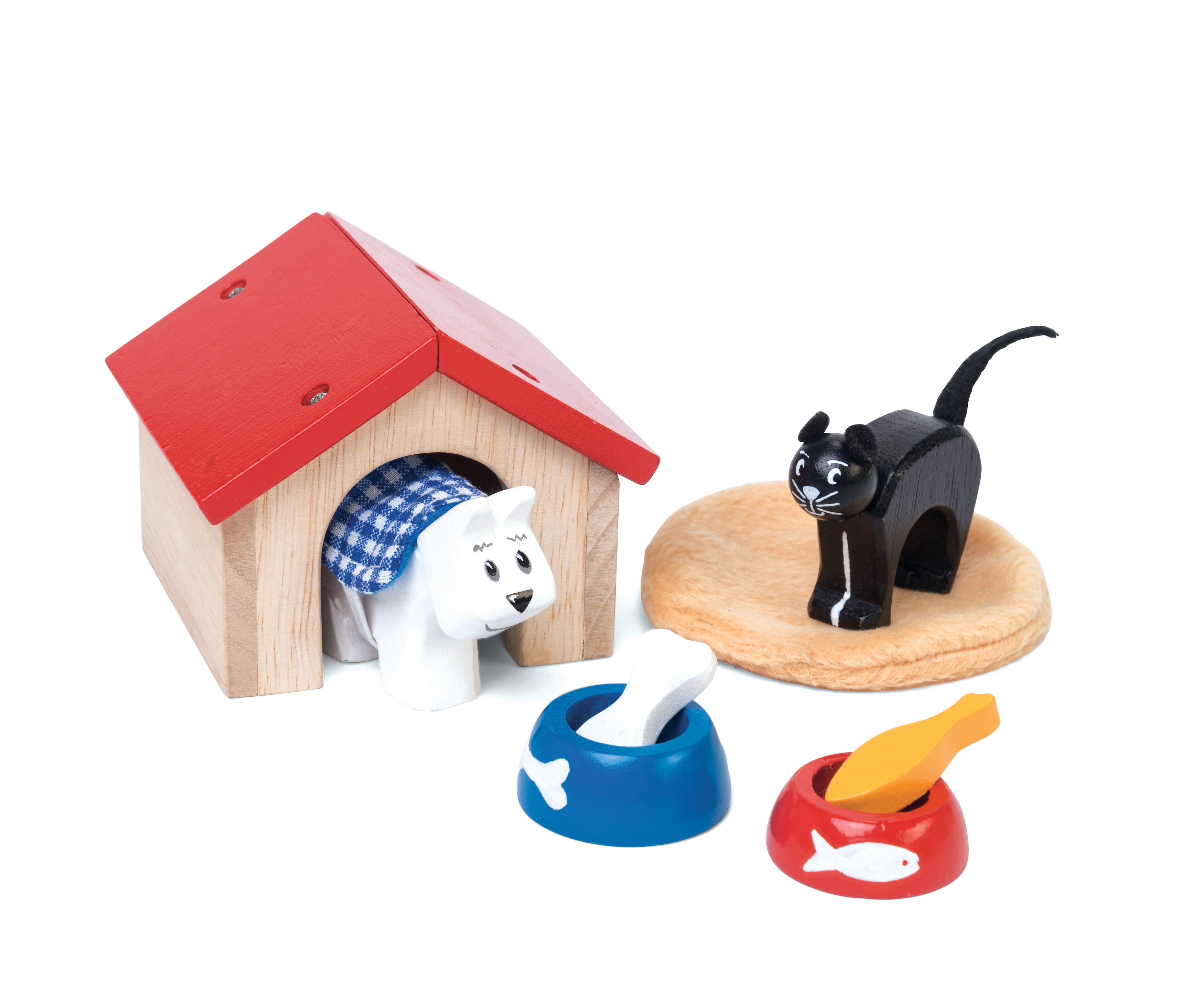 Pet Set For Doll House